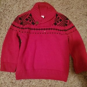 Christmas cowl neck sweater